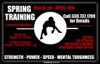 Train Improve Dominate- Spring Training Massillon